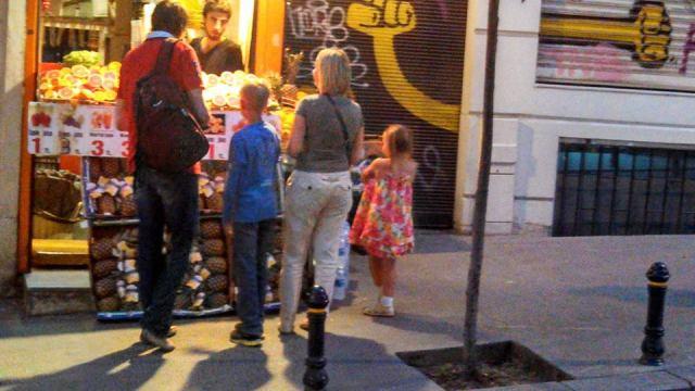 Ice cream run on Istaklal Ave