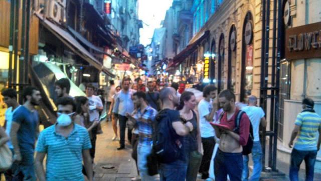 Side Street Scene, off of Istaklal