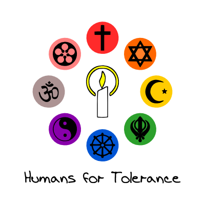 Source:  http://maryofmagdala.deviantart.com/art/Humans-4-Tolerance-Logo-Color-182340440